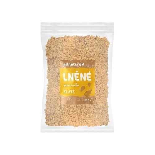 Zobrazit detail výrobku Allnature Lněné semínko zlaté 1000 g