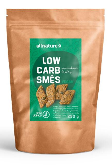 Zobrazit detail výrobku Allnature Low carb směs na semínkové krekry 230 g
