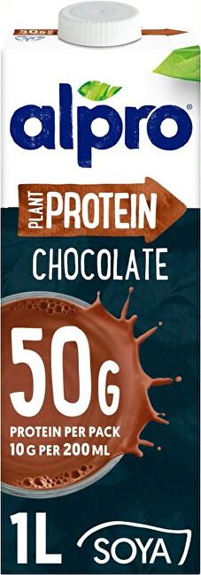 Alpro High Protein sójový nápoj s čokoládovou příchutí 1 l