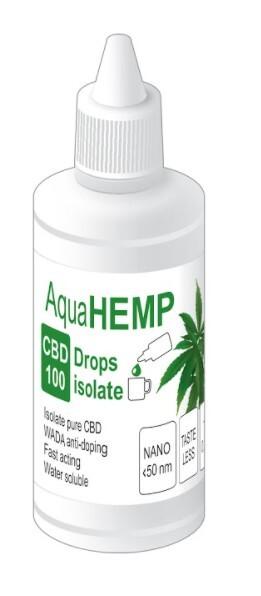 Zobrazit detail výrobku OVONEX AquaHEMP DROPS isolate 50 ml CBD 100