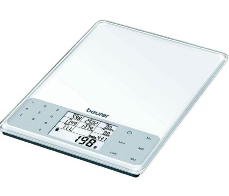 Zobrazit detail výrobku Beurer Nutriční kuchyňská váha DS61