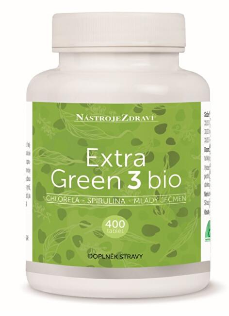 Zobrazit detail výrobku Blue Step Extra Green 3 Bio 400 tablet