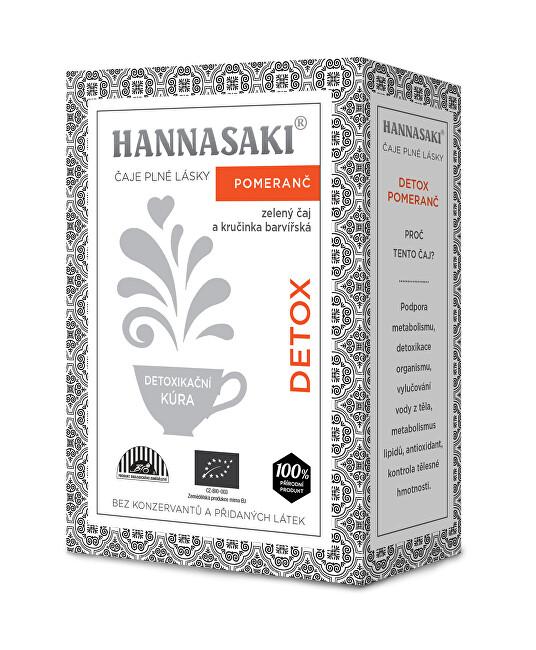Zobrazit detail výrobku Čaje Hannasaki Detox pomeranč 50 g