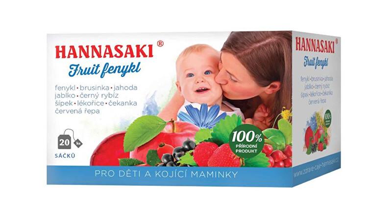 Zobrazit detail výrobku Čaje Hannasaki Fruit fenykl - pro děti a kojící maminky 40 g