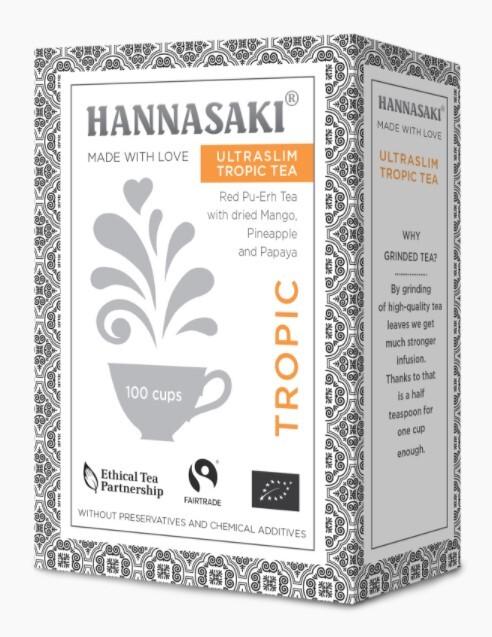 Zobrazit detail výrobku Čaje Hannasaki Ultraslim TROPIC 50 g