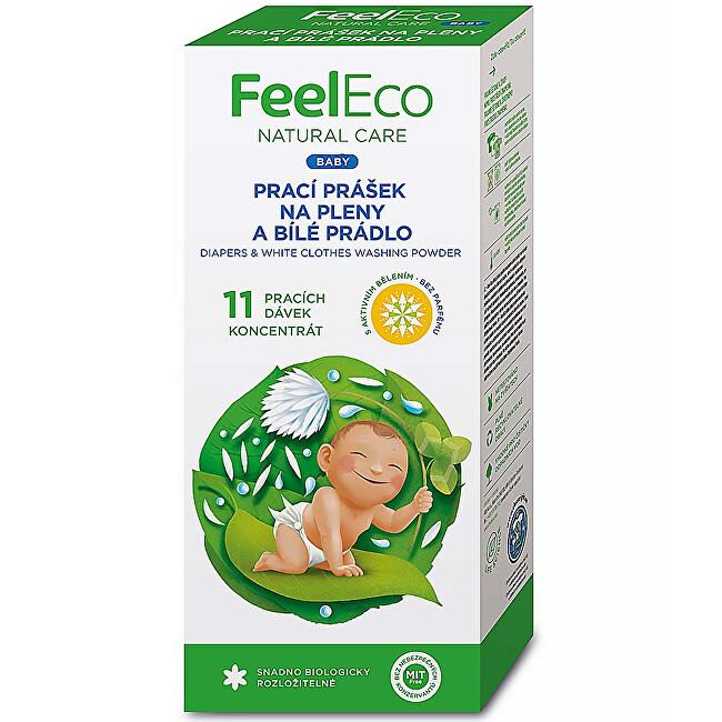 Zobrazit detail výrobku Feel Eco Prášek na pleny a světlé prádlo 660 g