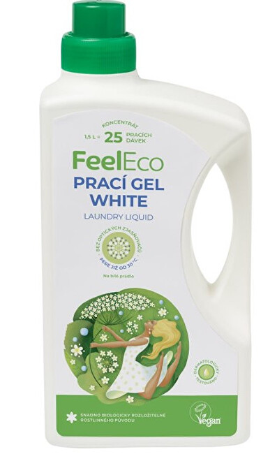 Zobrazit detail výrobku Feel Eco Prací gel white 1,5 l