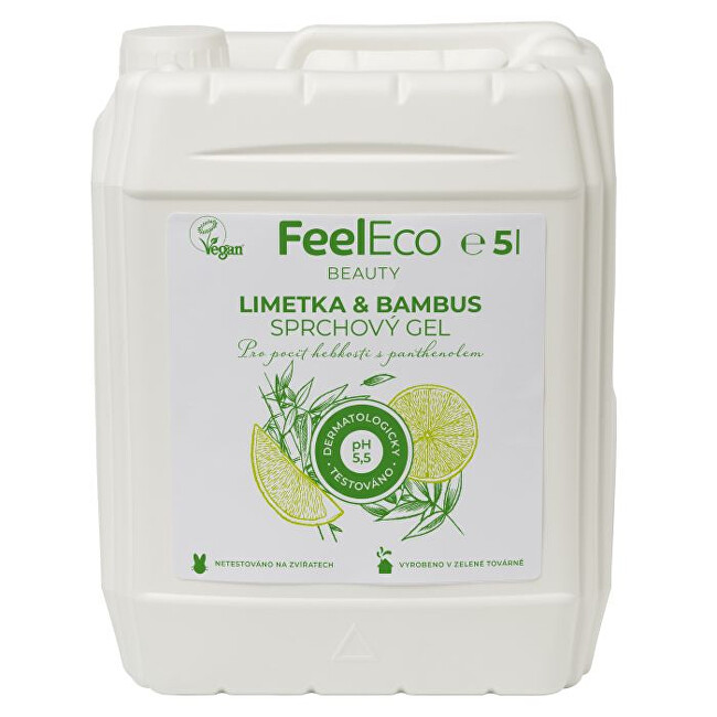 Zobrazit detail výrobku Feel Eco Sprchový gel limetka & bambus 5 l