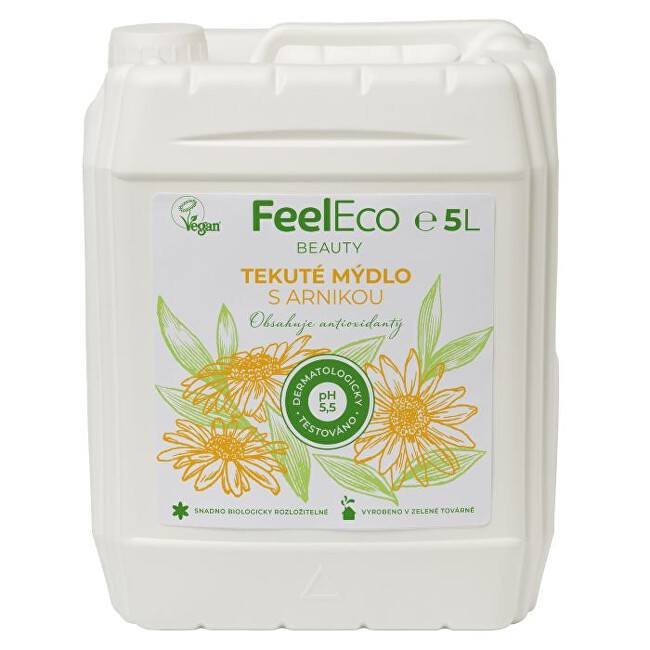 Zobrazit detail výrobku Feel Eco Tekuté mýdlo arnika 5 l