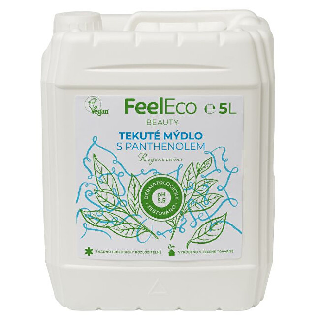 Zobrazit detail výrobku Feel Eco Tekuté mýdlo panthenol 5 l