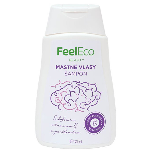 Zobrazit detail výrobku Feel Eco Vlasový šampon na mastné vlasy 300 ml