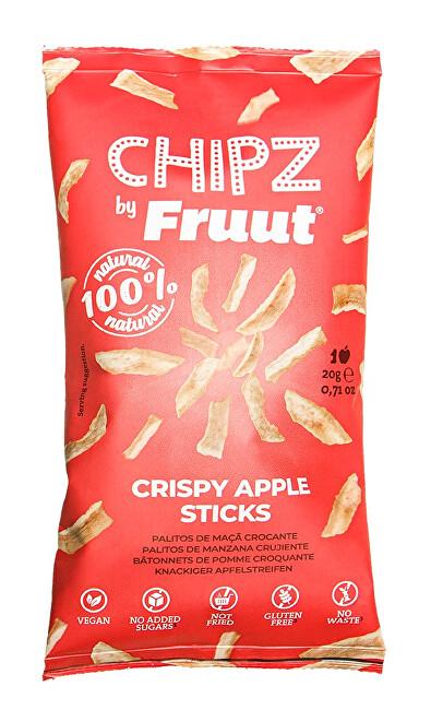 Zobrazit detail výrobku Fruut Sušené jablečné křupavé kousky (červené jablko) 20 g