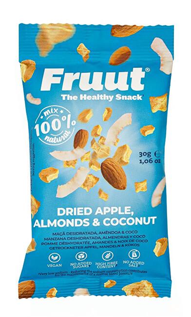Zobrazit detail výrobku Fruut Sušené jablečné křupavé kousky smandlemi a kokosem 30 g