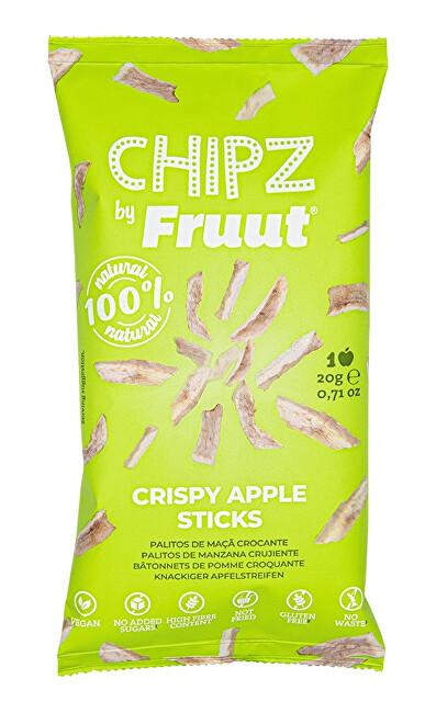 Zobrazit detail výrobku Fruut Sušené jablečné křupavé kousky (zelené jablko) 20 g