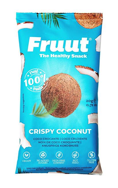 Zobrazit detail výrobku Fruut Sušené kokosové křupavé plátky 20 g
