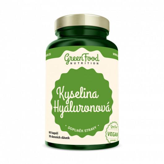 Zobrazit detail výrobku GreenFood Nutrition GF Kyselina Hyaluronová 60cps