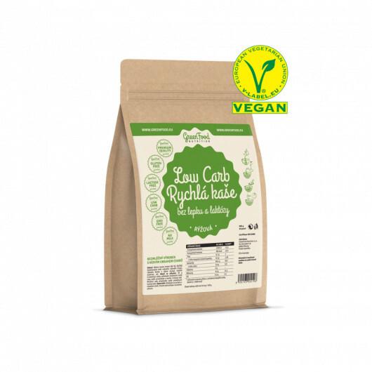 Zobrazit detail výrobku GreenFood Nutrition GF LOW CARB Rychlá kaše rýžová 500 g