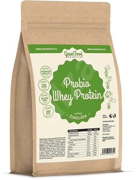 Zobrazit detail výrobku GreenFood Nutrition GF Probio Whey protein příchuť čokoláda 750 g