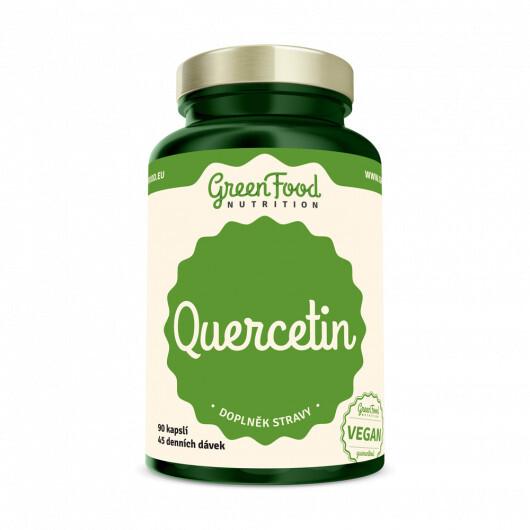 Zobrazit detail výrobku GreenFood Nutrition GF Quercetin 90 kapslí
