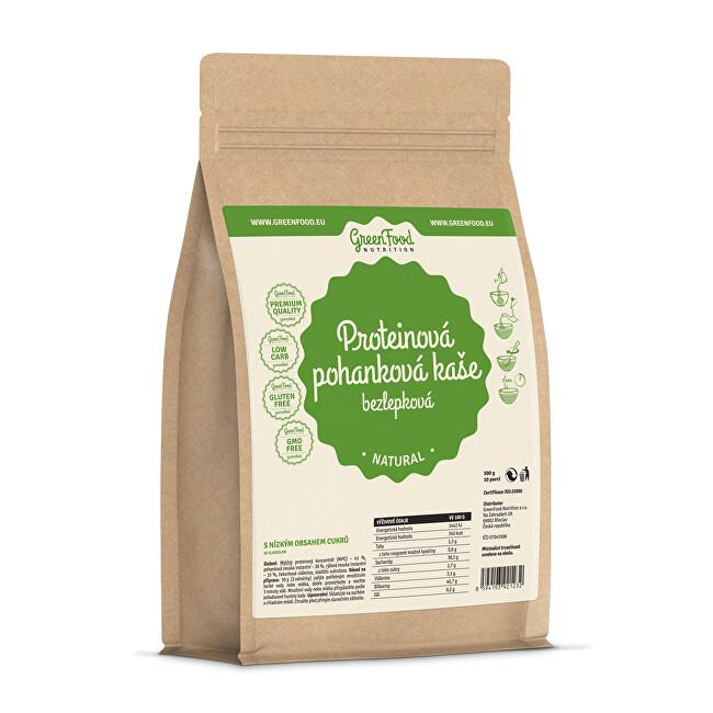 Zobrazit detail výrobku GreenFood Nutrition Proteinová pohanková kaše bezlepková natural 500 g