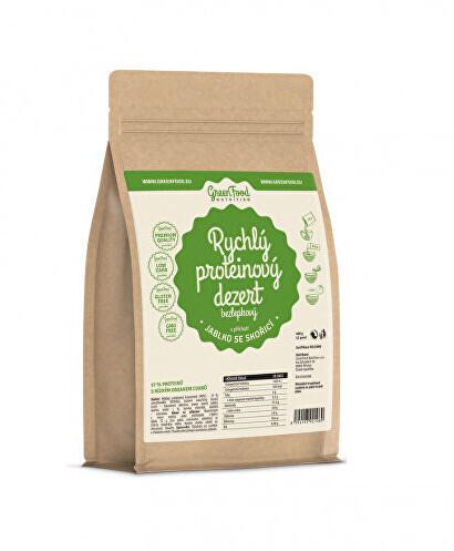 Zobrazit detail výrobku GreenFood Nutrition Rychlý proteinový dezert jablko se skořicí 400 g