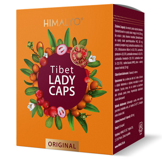 Zobrazit detail výrobku Himalyo Tibet LADY CAPS 60 kapslí