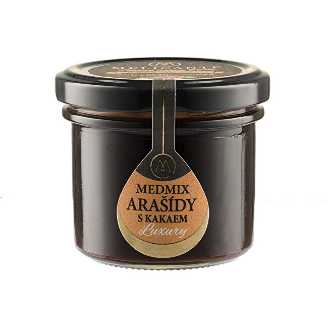 Zobrazit detail výrobku HoneyMix Med s arašídy a kakaem 130 g