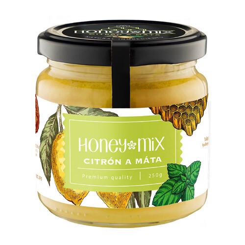 Zobrazit detail výrobku HoneyMix Med s citronem a mátou 250 g