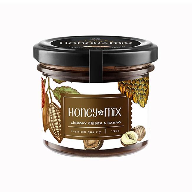 Zobrazit detail výrobku HoneyMix Med s lískovým oříškem a kakaem 130 g