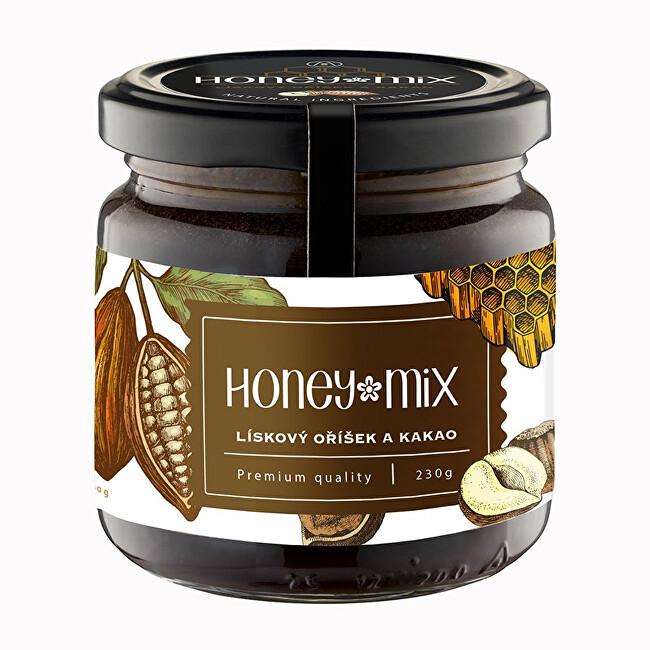 Zobrazit detail výrobku HoneyMix Med s lískovým oříškem a kakaem 230 g