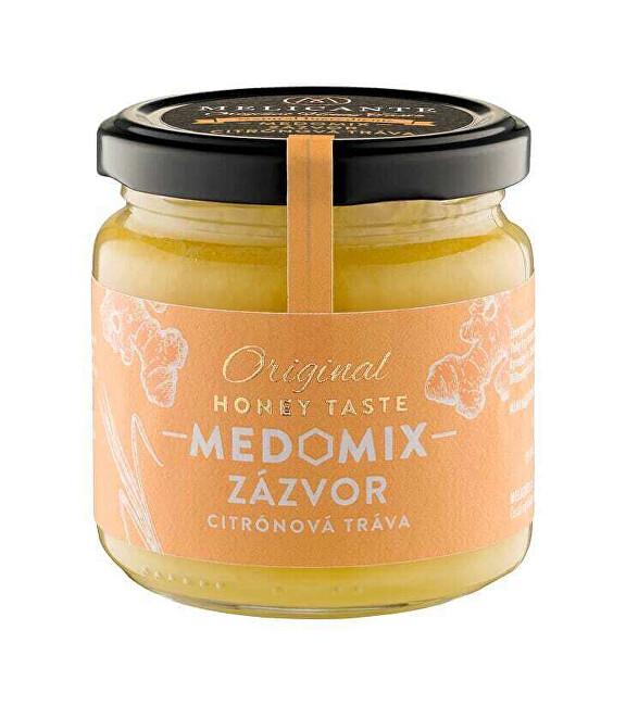 Zobrazit detail výrobku HoneyMix Med se zázvorem a extraktem z citronové trávy 250 g