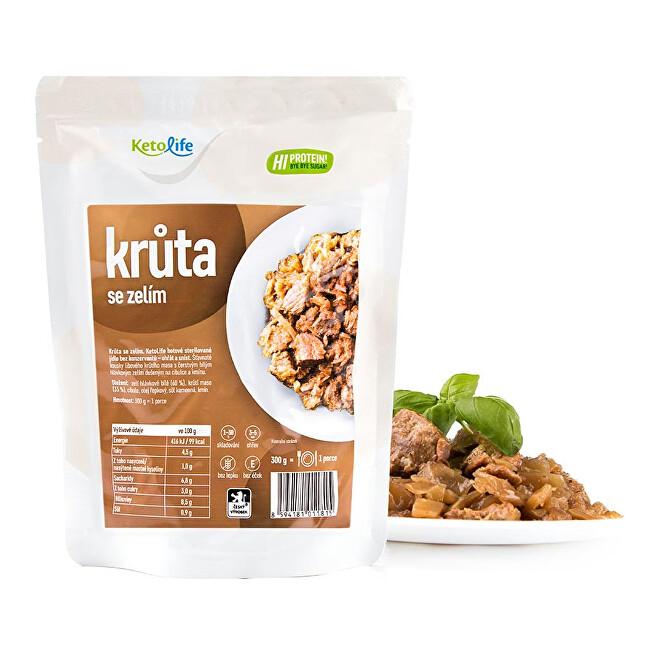 Zobrazit detail výrobku KetoLife Hotové jídlo - Krůta se zelím - 1 porce