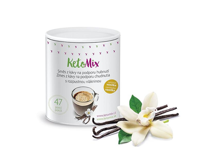 Zobrazit detail výrobku KetoMix Instantní káva na podporu hubnutí s příchutí vanilky 94 g