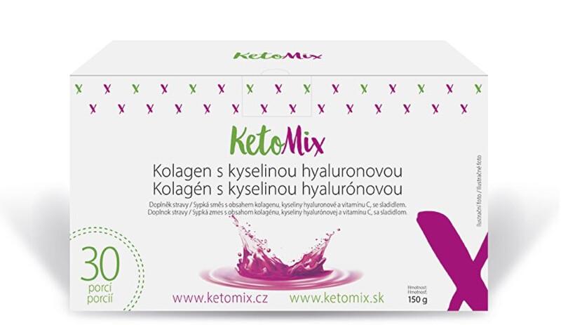 Zobrazit detail výrobku KetoMix Kolagen s kyselinou hyaluronovou (30 porcí)