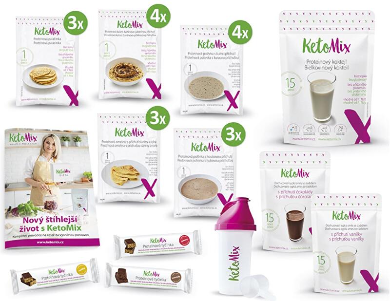 Zobrazit detail výrobku KetoMix Ochutnávkový týdenní balíček