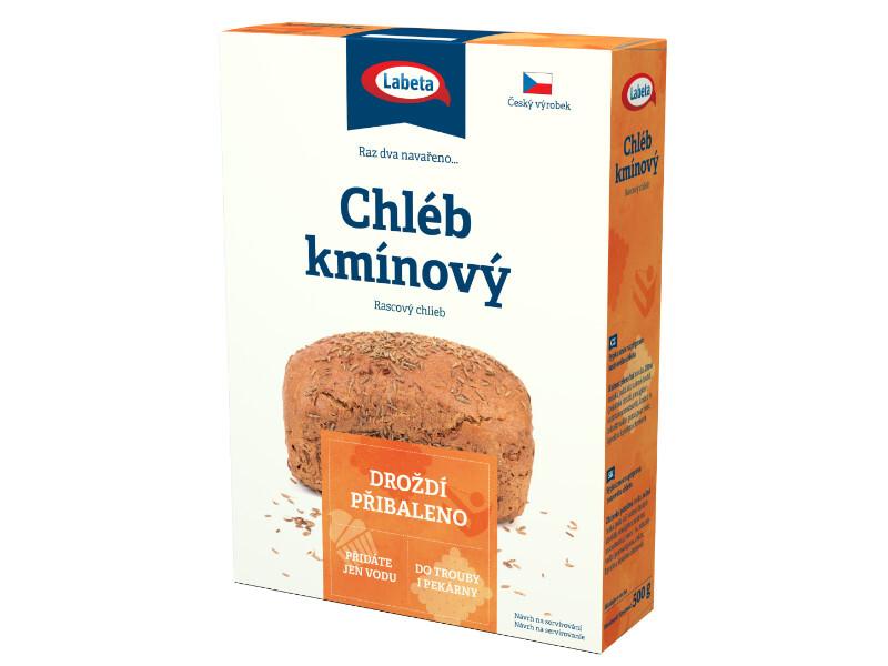 Zobrazit detail výrobku LABETA A.S. Chléb kmínový 500 g