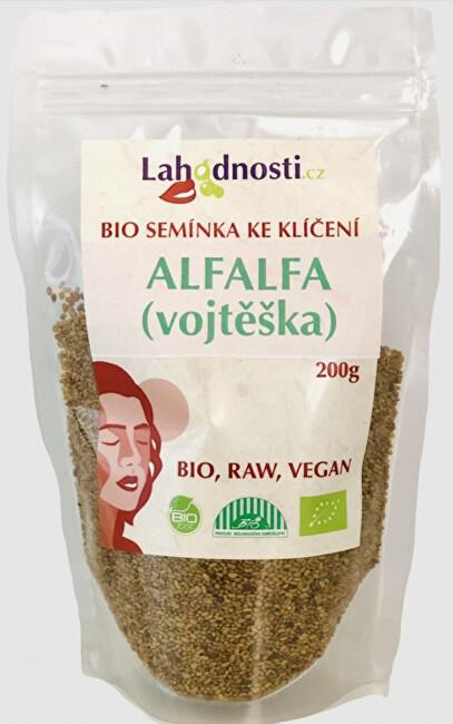 Zobrazit detail výrobku Lahodnosti Alfalfa (vojtěška) BIO - semínka ke klíčení 400 g