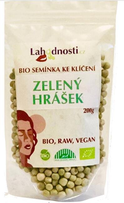 Zobrazit detail výrobku Lahodnosti BIO Zelený hrášek, semínka ke klíčení 200 g