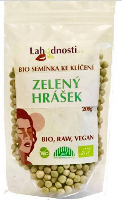 Zobrazit detail výrobku Lahodnosti BIO Zelený hrášek, semínka ke klíčení 400 g