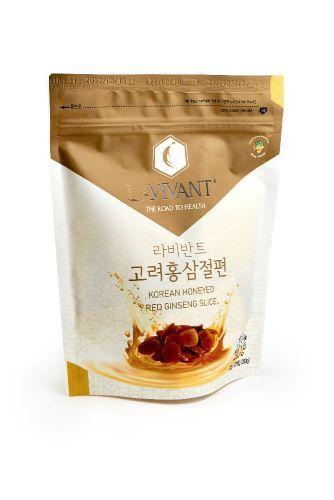 Zobrazit detail výrobku Lavivant Korejské ženšenové plátky kořene v medu 10 x 20 g