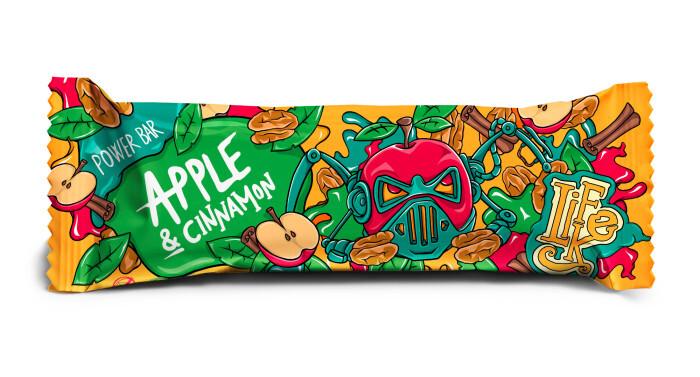 Zobrazit detail výrobku Lifelike Food Power bar apple, cinnamon 50 g