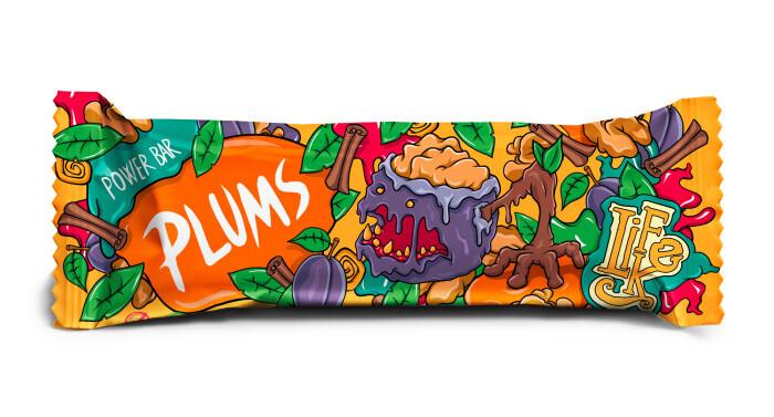 Zobrazit detail výrobku Lifelike Food Power bar plums50 g