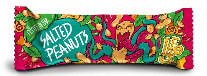 Zobrazit detail výrobku Lifelike Food Protein bar Salted peanuts 45 g