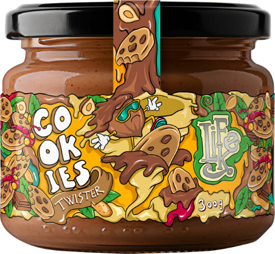 Zobrazit detail výrobku Lifelike Food Twister Cookies 300 g