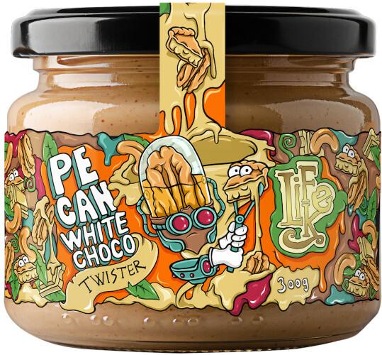 Zobrazit detail výrobku Lifelike Food Twister Pecan white chocolate 300 g