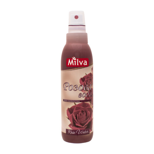 Zobrazit detail výrobku Milva Přírodní růžová voda s pumpičkou 200 ml