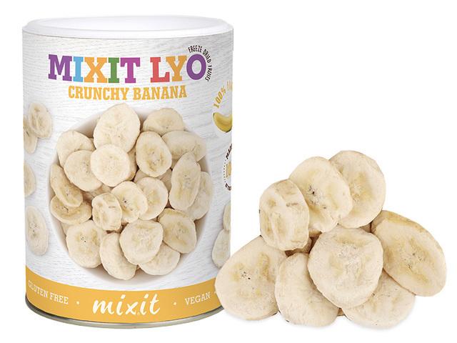 Zobrazit detail výrobku Mixit Banán - Křupavé ovoce 130 g