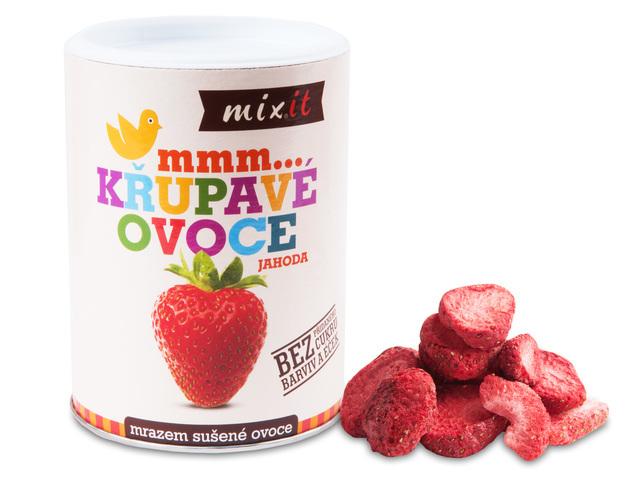 Zobrazit detail výrobku Mixit Jahoda - Křupavé ovoce 50 g