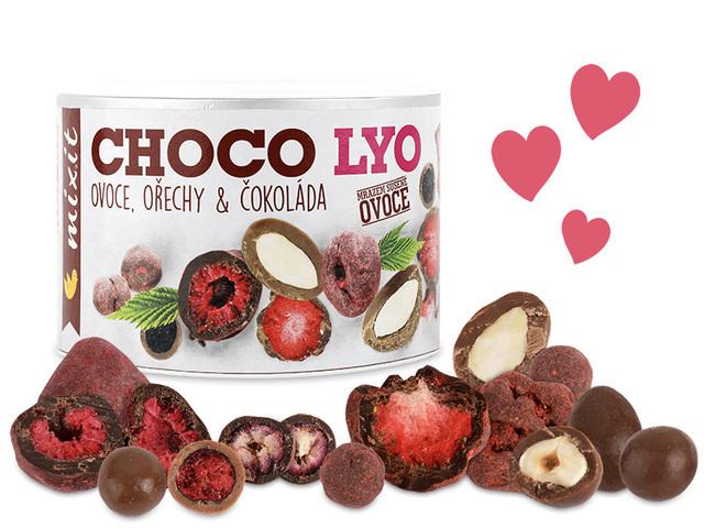 Zobrazit detail výrobku Mixit Křupavé ovoce a ořechy v čokoládě 180 g