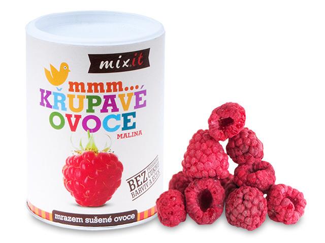 Zobrazit detail výrobku Mixit Malina - Křupavé ovoce 70 g